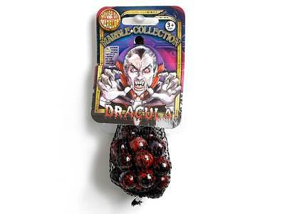 Marbles Dracula Net Bag Of 20 + 1 House Of Marbles Glass Games Toy Kids Novelty