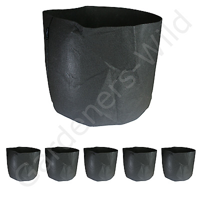 56L x6 FABRIC AIR PRUNING PLANT POT ROUND PLANTIT dirt fibre hydroponic planter