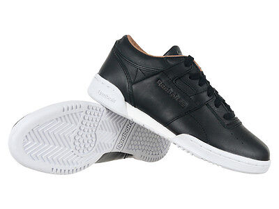 bb653ca63c6f3a REEBOK CLASSIC WORKOUT LO Clean PRS Mens Reflective Sneakers Shoes ...