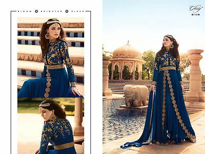 New Ethnic Anarkali Salwar Kameez Indian Pakistani Designer Suit Bollywood Dress
