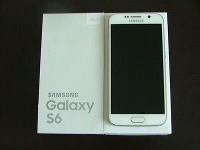 Samsung Galaxy S6 SM-G920W8 - 32GB - White Pearl (Bell Mobility) Smartphone...