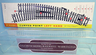 Hornby 'oo' Gauge R8074 Left Hand Curved Point *new & Sealed*