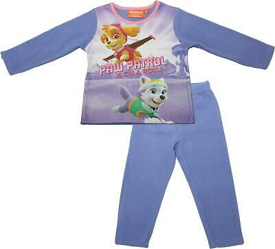 Paw Patrol Girls Micro Polar Fleece Pyjamas