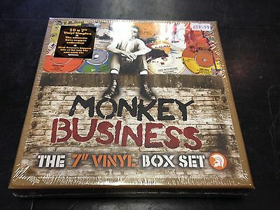 "Monkey Business The 7"" Vinyl Box Set On Trojan 10 X 7"" New Mint Sealed"