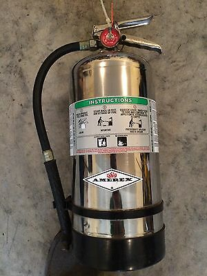 Amerex B260 6 Liter Wet Chemical Class A K Fire Extinguisher