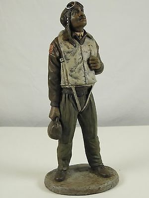Tuskegee Airmen World War II Statue Sculpture African American Art Figure 13 In