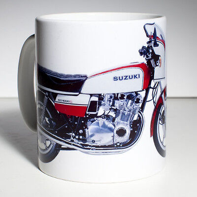 #69 RED SUZUKI GS1000 E MUG