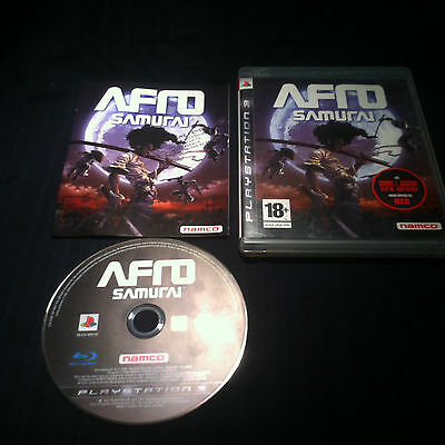 AFRO SAMURAI - FRANCAIS - jeu Game console Playstation 3 - PS3