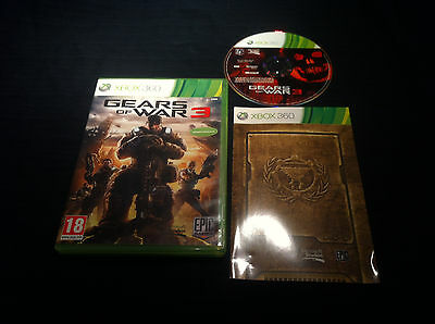 Gears Of Wars 3 - FRANCAIS -  jeu game console XBOX 360