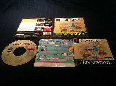 Civilization II 2 -  FRANCAIS - PS1 - jeu game console Playstation 1 PS2