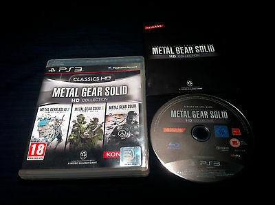 Metal Gear Solid HD Collection - FRANCAIS - jeu Game console Playstation 3 - PS3