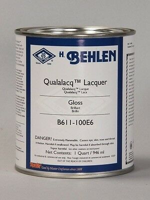 Behlen Qualalacq Lacquer Finish Gloss 1 Quart