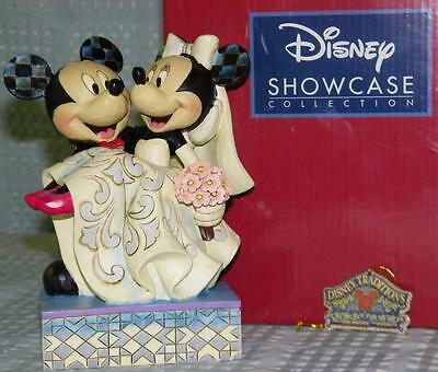 Disney Showcase Collection Mickey and Minnie Wedding Figurine 1014CF