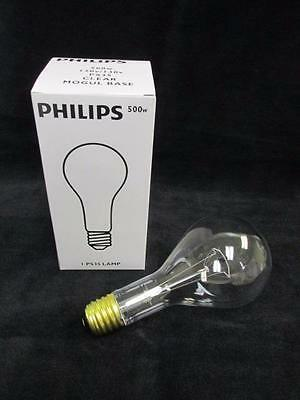Lot of (4) NEW NIB Philips 500W PS35 Clear Mogul Base Lamps 120V 144071