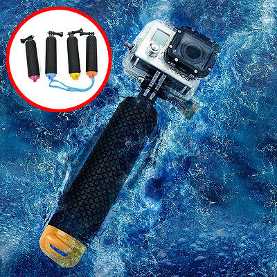 Water Floating Hand Grip Handle Mount Float For GoPro Hero 2 3+ 4 5 Sport Camera