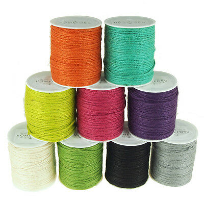 4 Ply, Jute Twine Cord Ribbon, 1/8-Inch, 100 yards