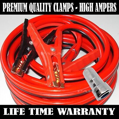 Industrial Heavy duty 12 Feet 2 Gauge Booster Jumper Cables