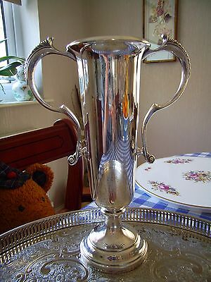 Vintage Silver Plated Vase or Trophy