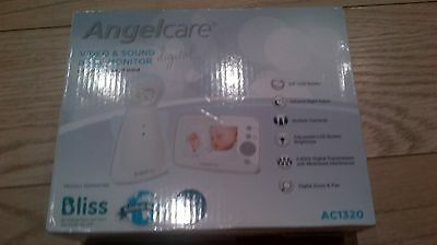 New Angelcare AC1320 Video and Sound Digital Baby Monitor
