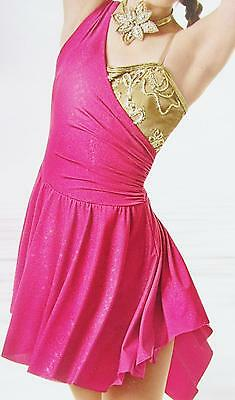 Pink Lyrical Sequin CMED Jazz Tap Curtain Call Costume