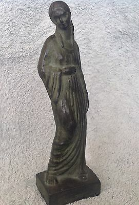 Fidel Aguilar (Girona, 1894-1917) Ceramic Figure Spain Art Nouveau