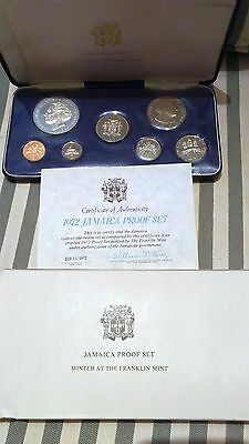 1972 Jamaica Proof Set 7 coins Original box
