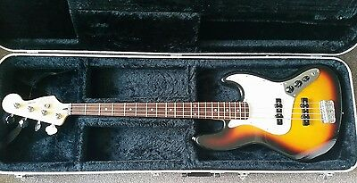 Fender jazz bass 60th anniversary mexican