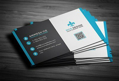 Professional Bespoke Best Company Business Card Design Service Free Revisions
