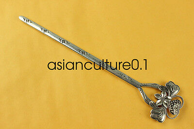 China new noble fashion Tibet silver carving Fancy Hairpin LMQQ126