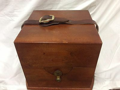 Russian Fusee Movement Marine Ship Chronometer By Kirov With Both Boxes