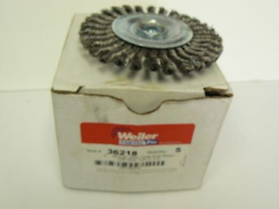 """WIRE WHEEL,4"""" TWIST KNOT by WEILER  buying 5 pcs"""