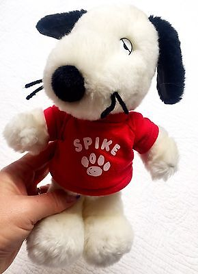 """Peanuts Snoopy Brother """"Spike"""" plush"""