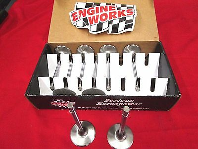 New Engine Works 215205 Stainless Intake Valves 2.055-11/32 Stem,street/strip