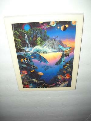 Rare  New Christian Riese Lassen Lt-108 Cosmos Tile Artwork