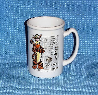 "The Disney Store Tigger ""Best of Bouncers"" Winnie Pooh Collector Mug Coffee Cup"