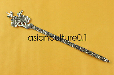 China new noble fashion Tibet silver carving Fancy Hairpin LMQQ125