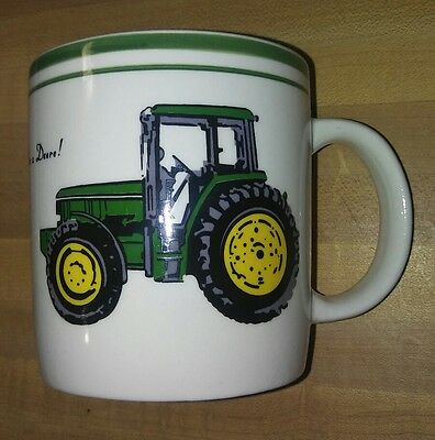 John Deere Officially Licensed Gibson Coffee Cup Mug Nothing Runs Like A Deere!