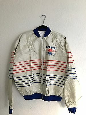 Vintage 1980s Tyvek Diet Pepsi Jacket DuPont Seattle New Soda Pop Memorabilia