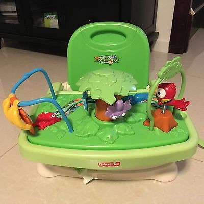 Fisher-Price Rainforest Healthy Care Booster Seat with Toys