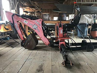 Woods BH80-X backhoe with mounting bracket