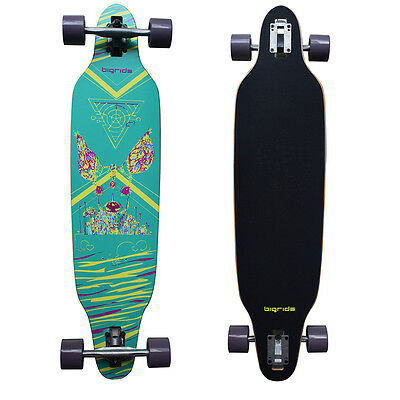 """38"""" Maple Wood Skateboard - Skid-proof Surface, Strong Bearings, Unique Design"""