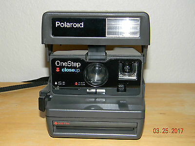 Vintage ~ Polaroid ~ One Step ~ Closeup ~ Instant Camera ~ Tested
