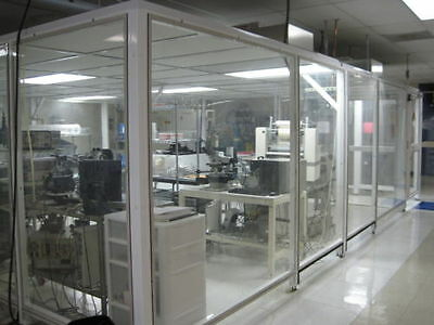 Modular Cleanroom 432 SF Servicor Stretchwall plus FFU w HEPA and ULPA Filters