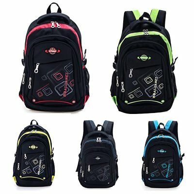 Waterproof Children Boy's School Backpack Girl's Satchel Book Rucksack Kids Gift