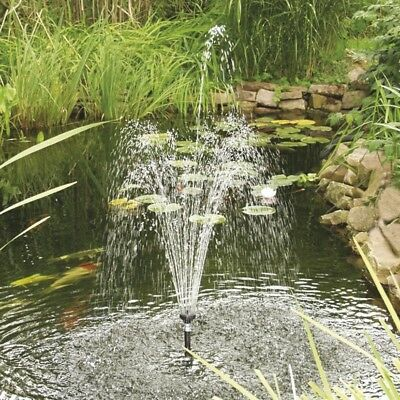 Solar Powered Panel Fountain Pond Pool Water Garden Watering Pump Kit 1.5W 2W 5W