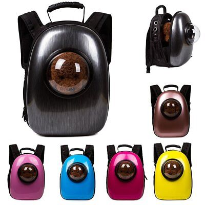 Pet Dog Cat Breathable Carrier Travel Small Puppy Astronaut Capsule Bag Backpack