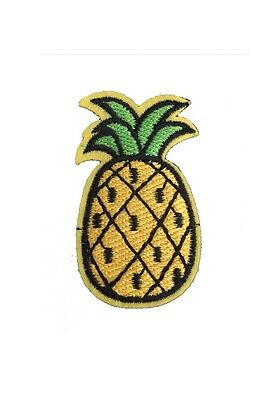 Iron On Pineapple Patch x 1
