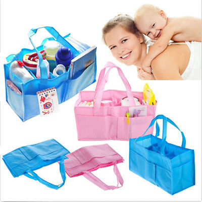 Portable Baby Diaper Nappy Changing Organizer Insert Liner Storage Bag