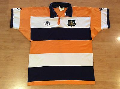 Australia Vintage Classic Sportswear Rugby Union Supporters Shirt Jersey Xl