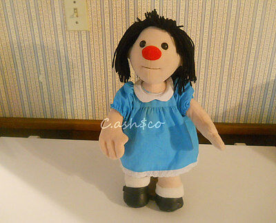 """18"""" Molly Doll Big Comfy Couch plush stuffed original dress & bloomers 1995   S2"""